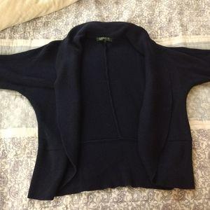 Ralph Lauren Navy blue knit short sleeve cardigan